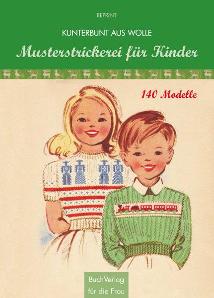 Buchcover Musterstrickerei für Kinder, Bildrechte bei BuchVerlag für die Frau, Leipzig
