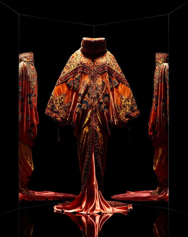Modell aus dem Haus Dior, Bild Les Arts Décoratifs