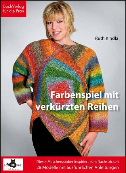 Buchcover Farbenspiel mit verkürzten Reihen, Bildrechte bei BuchVerlag für die Frau, Leipzig