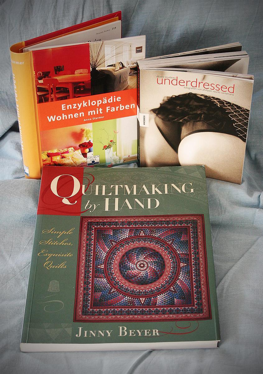 Lieblingsbücher Quetschfalte