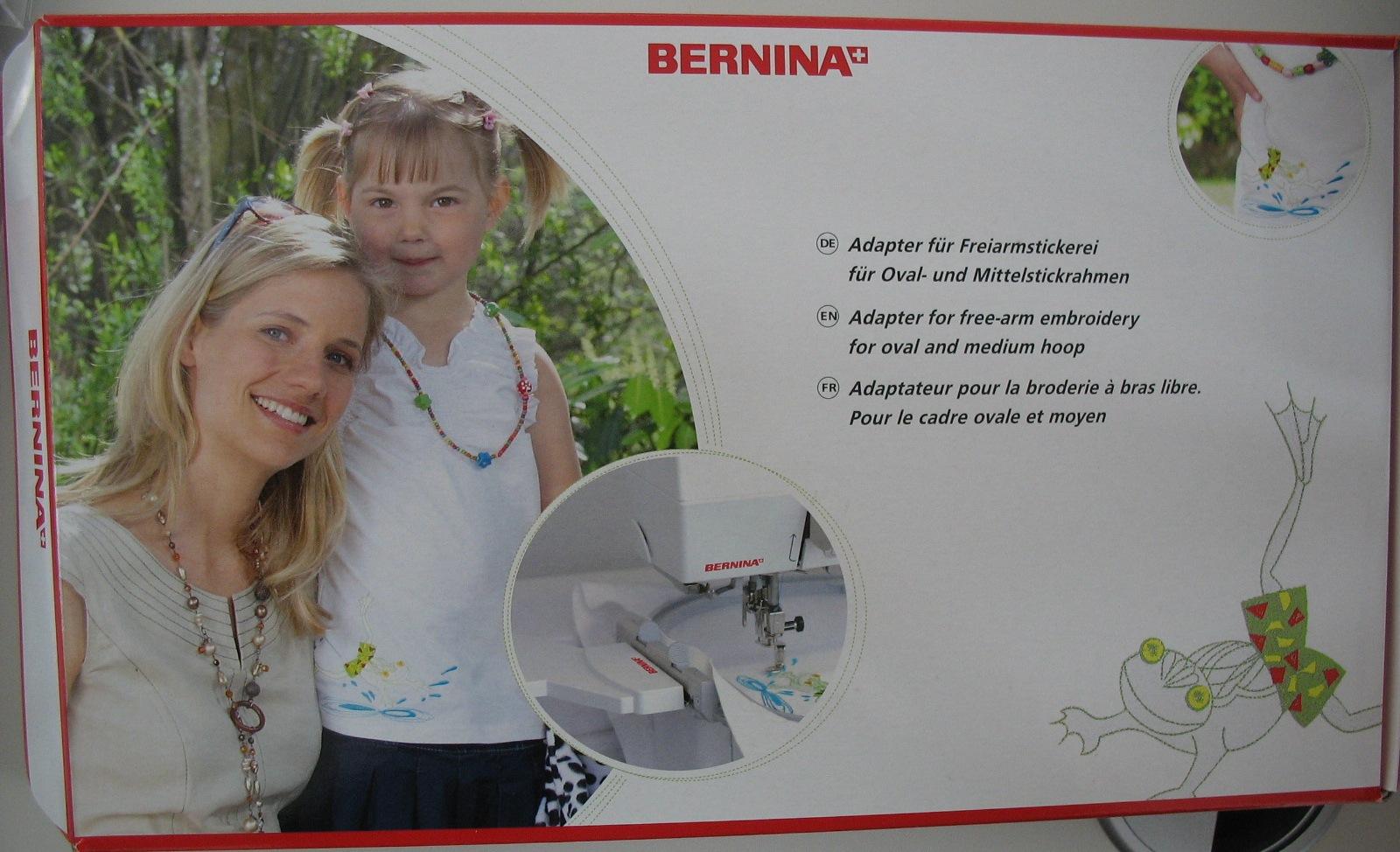 Bernina Freiarmadapter <i>Bild ULLA</i>