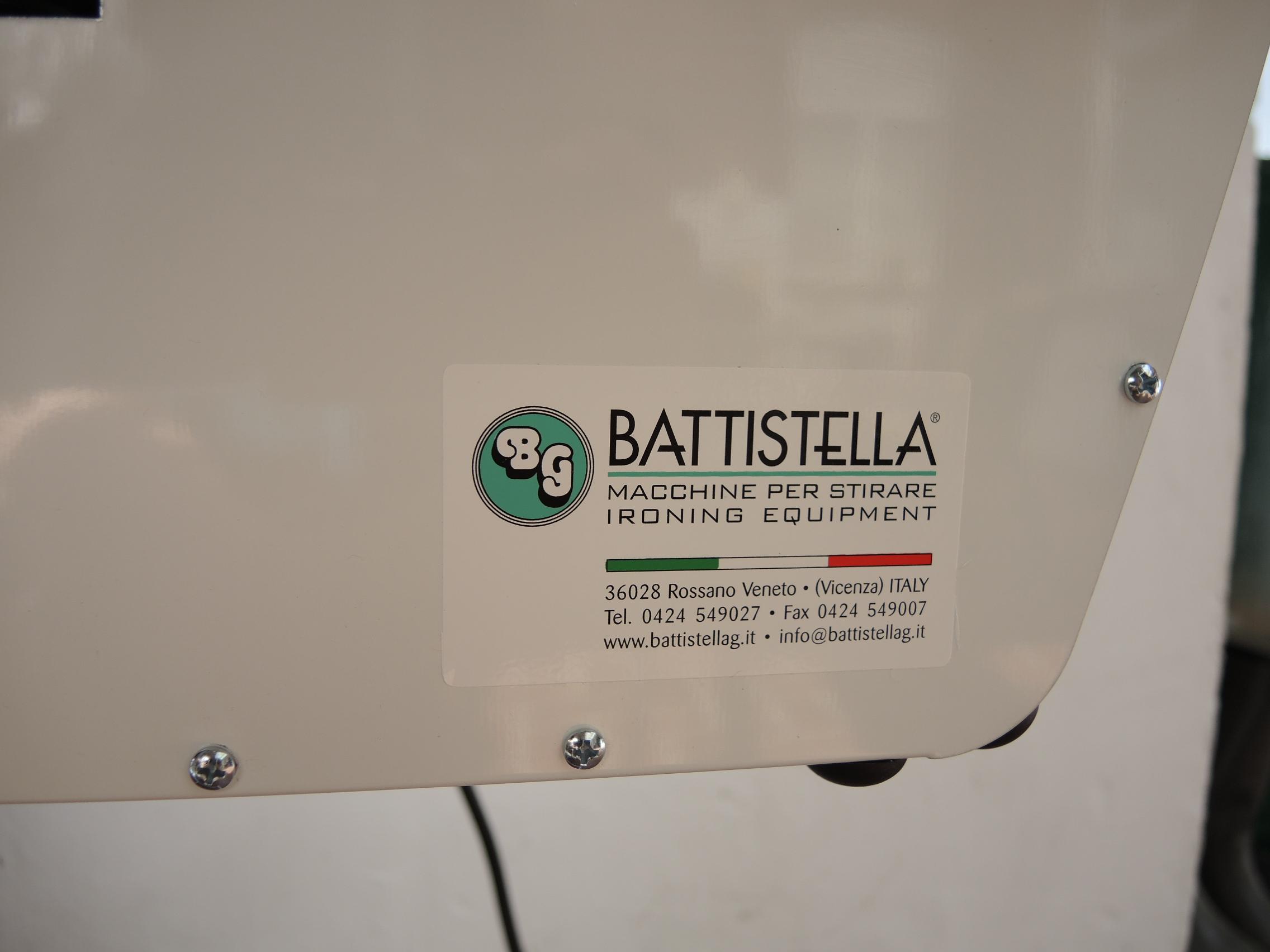 Bügelanlage Battistella / Bild ULLA