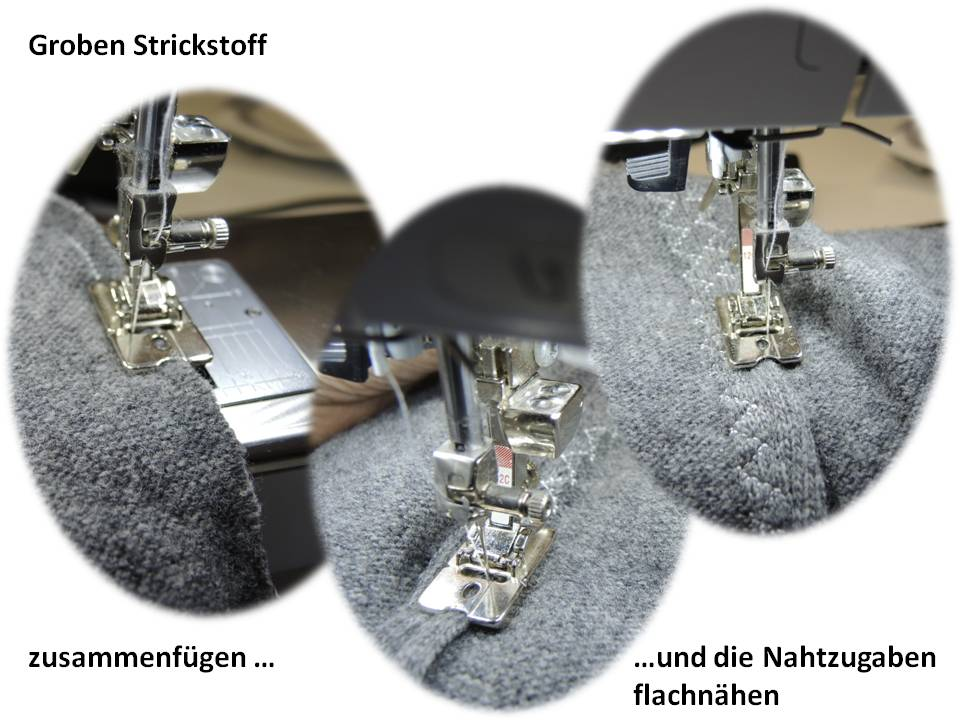 Bernina Strickwarenfuß #12; Bild ULLA