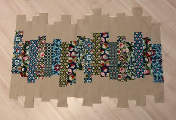 Streifen-Quilt