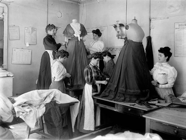 Atelier Worth, 1907