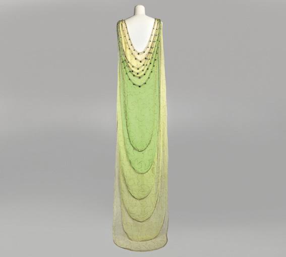Abendkleid aus dem Atelier Vionnet von 1924