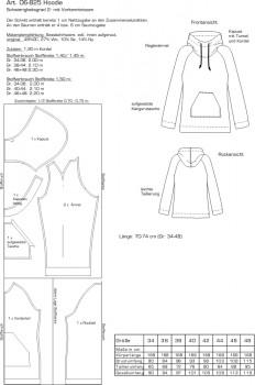 Zeichnung zu Pattern Company 06-825, Bild Pattern Review