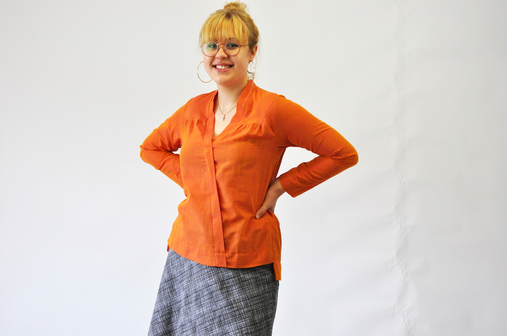 Bluse Carla, Bild so! pattern