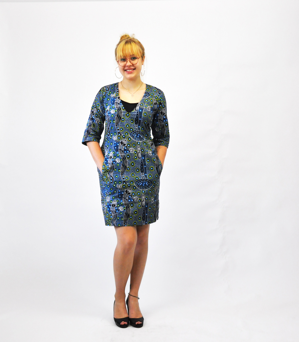Kleid Fanny, Bild so! pattern