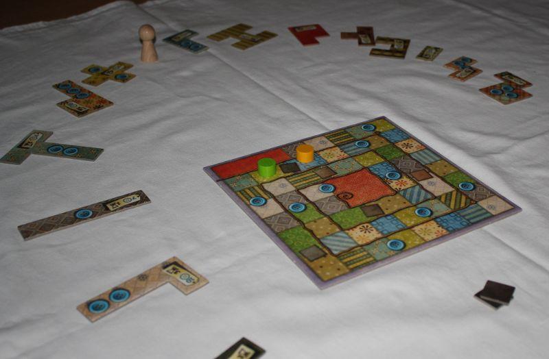 Spielfeld Spiel Patchwork