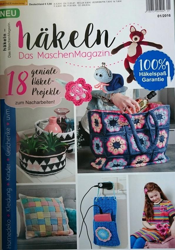 Neue Zeitschrift Häkeln Das Maschenmagazin Hobbyschneiderin 24
