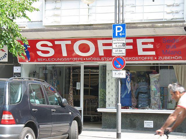 Stoffexport Frankfurt