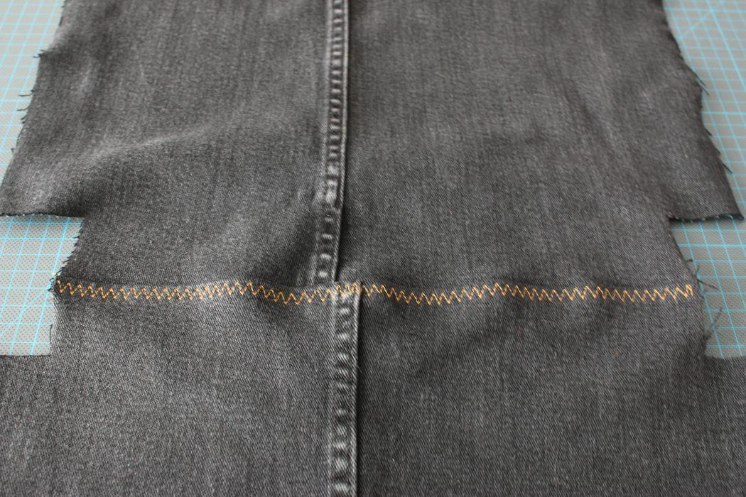 Jeanstasche