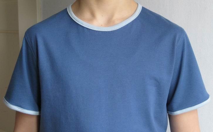 Shirt angezogen